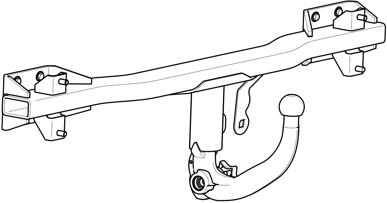 BMW 5er Kombi E61 04-10 Anhängerkupplung abnehmbar