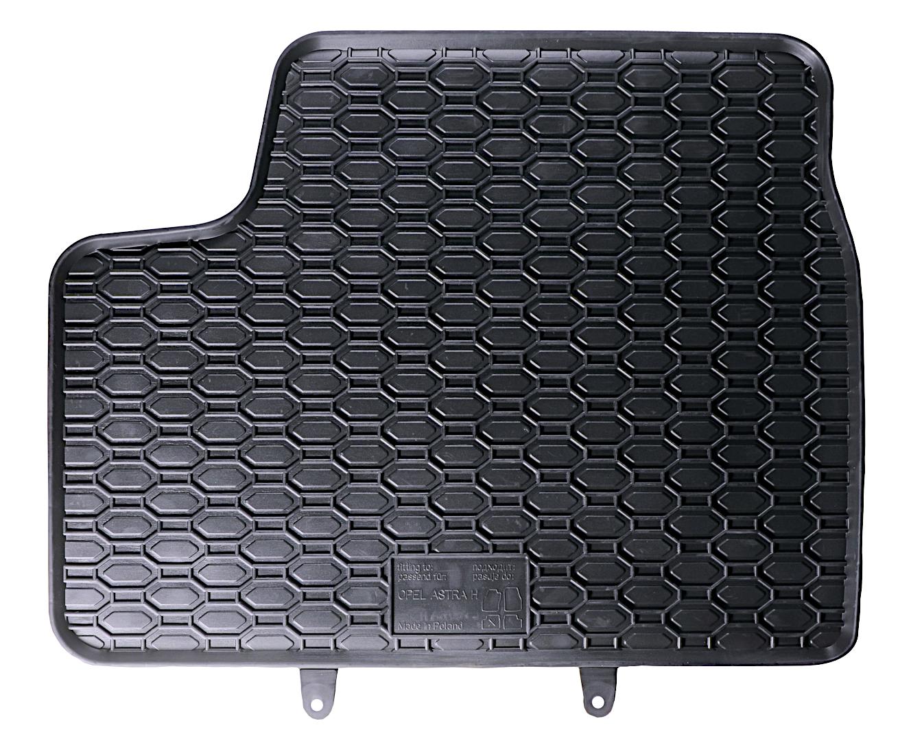 Caoutchouc Tapis caoutchouc Tapis de sol Jeu Opel Astra H 2 Pièces avant entièrement Compatible