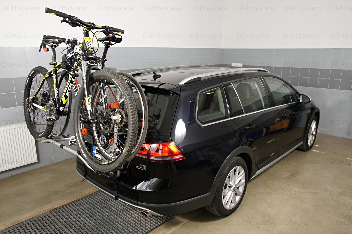 4x4 et Monospace. Porte-Vélos arrière Ellenne pr véhicules avec un coffre//hayon