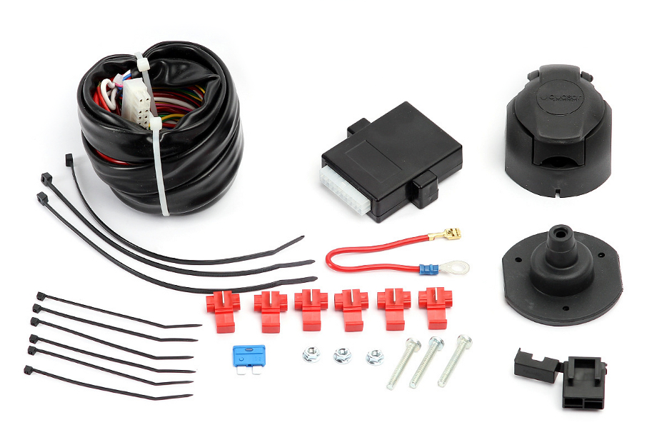 universal 7 pin 12n single electric kit wiring for towbar ford transit custom. Black Bedroom Furniture Sets. Home Design Ideas