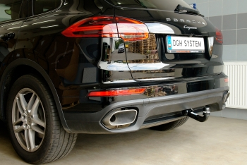 Porsche Cayenne from 2010 – tow bar installation (Westfalia) + wiring kit encoding