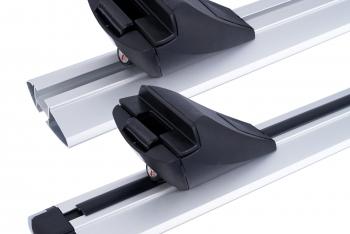 Nowość! Aerodynamiczny bagażnik dachowy EASY Line ADVANCED na relingi otwarte oraz zintegrowane.
