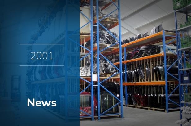 2001 - L'inizio della nostra attività