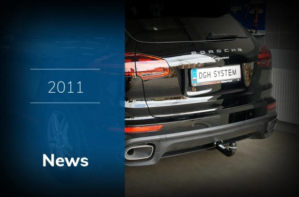 2011 - Montaż haków holowniczych, wiązki ConWys AG