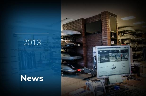 2013 - Otwarcie sklepu stacjonarnego