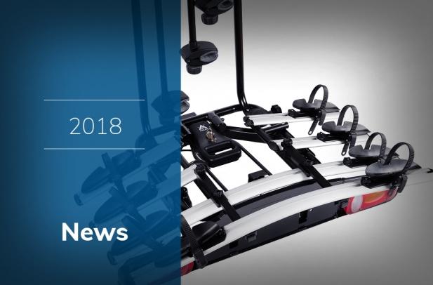 2018 - Bagażniki rowerowe, boxy, bagażniki dachowe