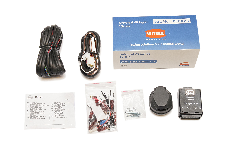 Fabulous Universal 13 Pin Euro Electric Kit Wiring For Towbar Univg13 Witter Wiring Digital Resources Honesemecshebarightsorg